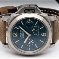 Panerai Luminor Power Reserve Titanium 44mm Blue Arabic numerals