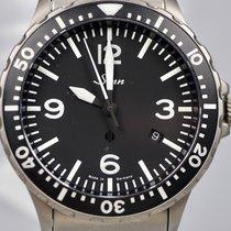 Sinn 856 / 857 Steel 43mm Black Arabic numerals