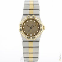 Chopard St. Moritz Gold/Steel 24mm Grey
