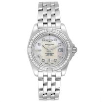 Breitling Cockpit Lady Acero 31.8mm Madreperla
