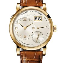 A. Lange & Söhne Lange 1 Yellow gold 38.5mm Silver United States of America, Florida, Sunny Isles Beach