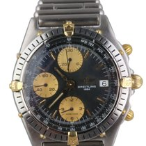 Breitling Chronomat Gold/Steel 39mm Black