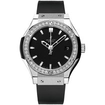 Hublot Classic Fusion Quartz Titanium 33mm Black No numerals United States of America, New York, New York