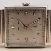 Movado Platinum 25mm Silver