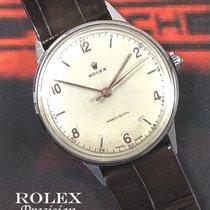 Rolex Oyster Precision Stahl 35mm Silber Keine Ziffern Deutschland, München