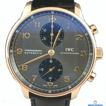 IWC Portugieser Chronograph Rosegold  deutsche Papiere inkl MWST