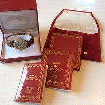 Cartier Zilver 33mm Quartz 1810 tweedehands Nederland, Koudekerke