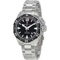 Hamilton Men's H77605135 Khaki Navy Frogman Auto Watch