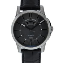 Maurice Lacroix Pontos Day Date Stainless Steel Gray Dial On...