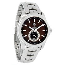 TAG Heuer Link Mens Brown Dial Swiss Automatic Watch WJF211C.B...