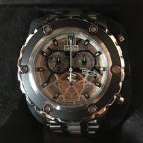 Invicta Steel 52mm Quartz 12958 pre-owned