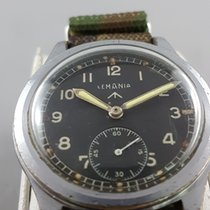 Lemania Bronze 36mm Manual winding WWW pre-owned