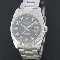 Rolex Datejust Staal 36mm Zwart Nederland, Maastricht