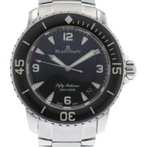 Blancpain Fifty Fathoms 5015-1130-71 Watch with Stainless...