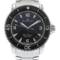 블랑팡 Fifty Fathoms 5015-1130-71 Watch with Stainless Steel...