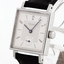 NOMOS Tetra 27 pre-owned 27.5mm Leather