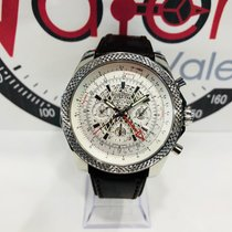 Breitling Bentley B04 GMT Acier 49mm Blanc