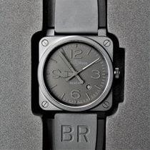 Bell & Ross BR 03-92 Ceramic Керамика 42mm Черный Aрабские