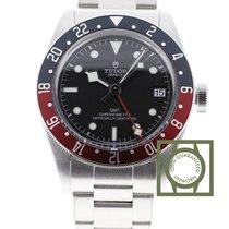 Tudor Black Bay GMT Pepsi Black Dial GMT Stainless Steel...