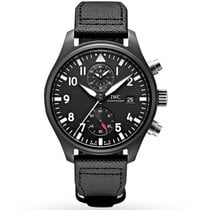 IWC Pilot Chronograph Top Gun Ceramic 44mm Black Arabic numerals United States of America, Pennsylvania, Holland