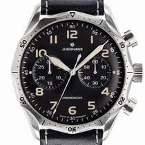 Junghans Meister Pilot automatic small seconds stainless steel...