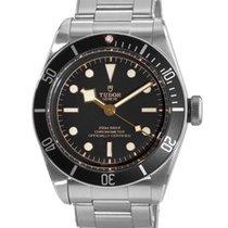 Tudor Heritage Black Bay Black Dial Steel Bracelet Automatic...