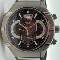 82f657a004f Piaget Polo G0a34002 Titanium Flyback Gmt Chronograph 45mm On..