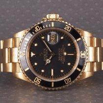 Rolex Submariner Date brugt 40mm Gult guld