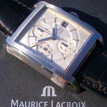 Maurice Lacroix Pontos Chronographe Stahl 43mm Silber Keine Ziffern Deutschland, Meißen