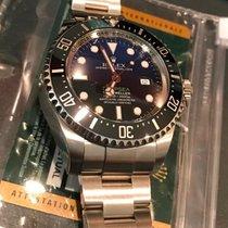 Rolex 44mm pre-owned Sea-Dweller Deepsea Blue