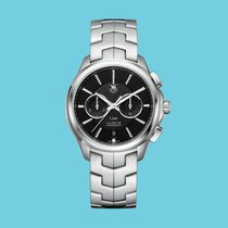 TAG Heuer Link Calibre 18 Steel 40mm Black No numerals