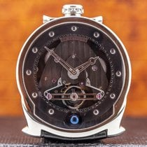 De Bethune 42.5mm Manual winding pre-owned DB24 Black