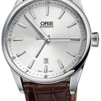 Oris Artix Date Steel 42mm Silver United States of America, New York, New York