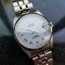 Tudor Prince Date Steel 32mm White United States of America, California, Beverly Hills