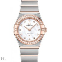 Omega Constellation Quartz Gold/Steel 25mm Mother of pearl