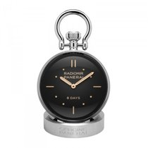 Panerai Table Clock Steel Black United States of America, Iowa, Des Moines