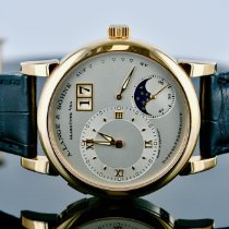 A. Lange & Söhne Lange 1 Rose gold 38.5mm Silver Roman numerals United States of America, Michigan, Southfield