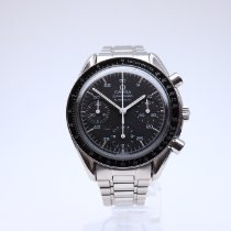 Omega Speedmaster Reduced Acero 39mm Negro Sin cifras