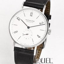 NOMOS 164 Steel Tangente 38 37.5mm new