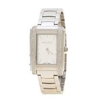 Nina Ricci Steel Quartz Nina Ricci Silver White Stainless Steel NRD036001 new