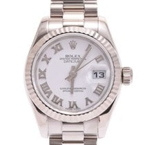 Rolex White gold 25mm Automatic 179179G pre-owned