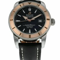 Breitling Superocean Héritage 42 Gold/Steel Black