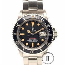 Rolex Submariner Date Steel 40mm Red No numerals