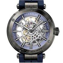 Michel Herbelin Newport (submodel) Steel 42mm Blue Roman numerals