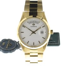 Lorenz Yellow gold 36mm Quartz 195533 new