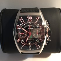 Franck Muller Steel Automatic 8080 CC AT VAL pre-owned
