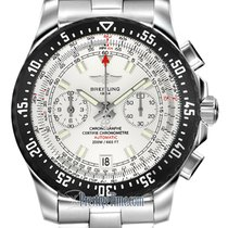 Breitling Skyracer Steel 43.5mm Silver United States of America, New York, Airmont