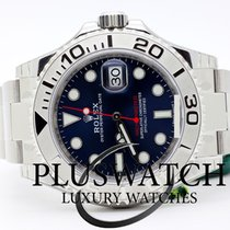 Rolex Yacht-Master 40 Acero 40mm Azul Sin cifras