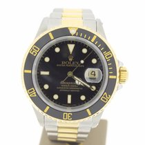 Rolex Submariner Date Steel/Gold BlackDial 40mm (BOXonly1989)...