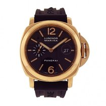 Panerai Luminor Marina 18K Yellow Gold Automatic Men's...